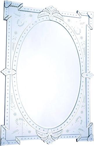 Elegant Lighting Venetian Clear Mirror, 29 by 1.5 by 40.75