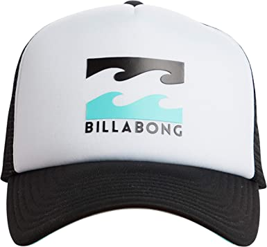 BILLABONG Gorra Trucker Podium Negro-Blanco - Ajustable: Amazon.es ...