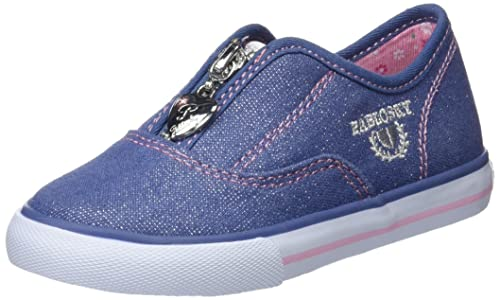 Pablosky 948920, Zapatillas para Niñas, Azul, 25 EU