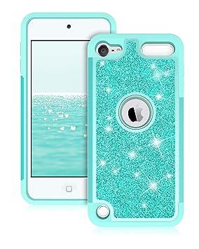 Dailylux iPod 5/6 Carcasa, iPod Touch 7 Funda,Glitter Bling ...
