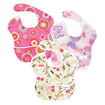 Image result for super bib bumkin 3 pack girls