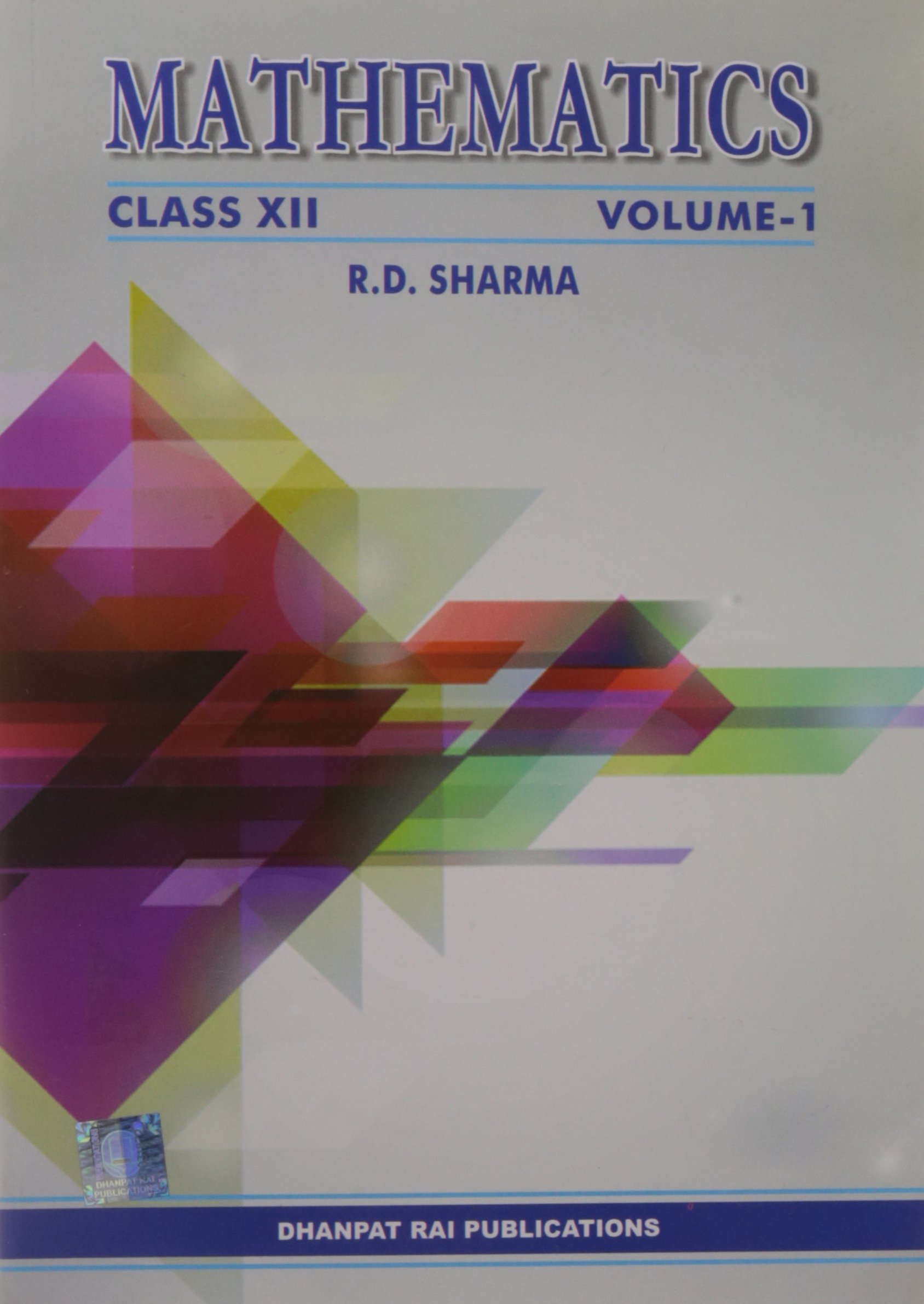 Mathematics - Class XII (Set of 2 Volumes): 9789383182367