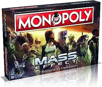 Winning Moves - Juego de Mesa Monopoly Mass Effect Edición de colección, versión Italiana, 29292: Amazon.es: Juguetes y juegos