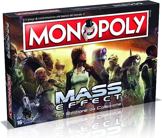 Winning Moves 29292 – Mass Effect Juegos de Mesa – Monopoly edición de colección versión Italiana: Amazon.es: Juguetes y juegos