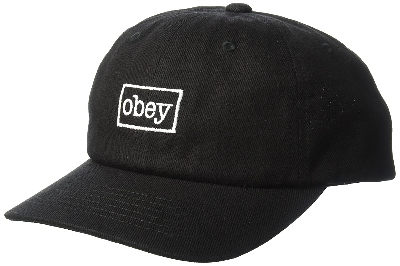 Obey Outline 6 Panel Sombreros de vestir Negro 7175900 (U): Amazon.es: Ropa y accesorios