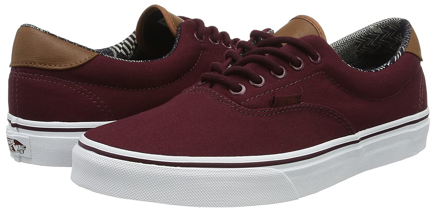 Vans Unisex Era 59 Skate Shoes B01I22QLNW 8.5 D(M) US|Port Royale / White