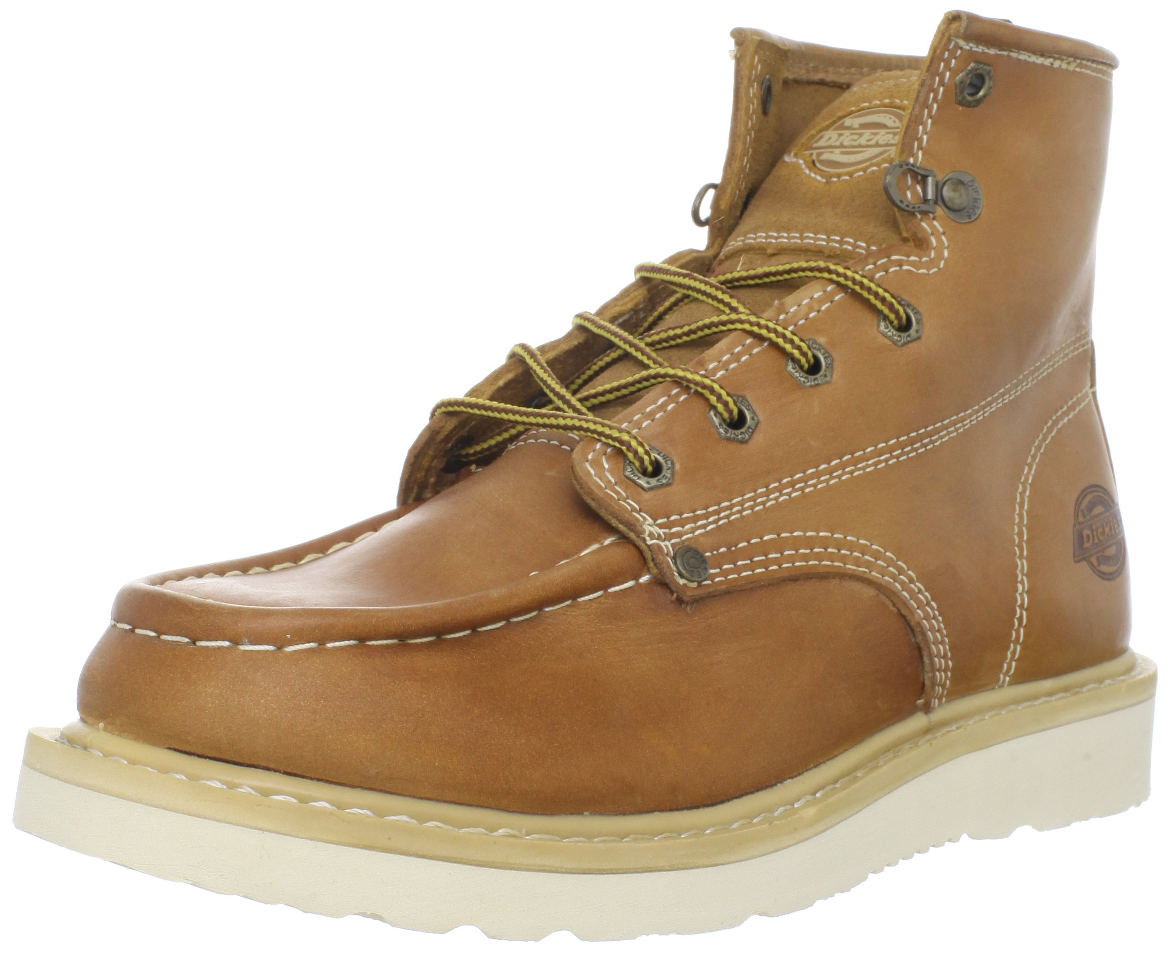 Dickies Men's Trader 6'' Leather Boot,Luggage Tan,10 M US