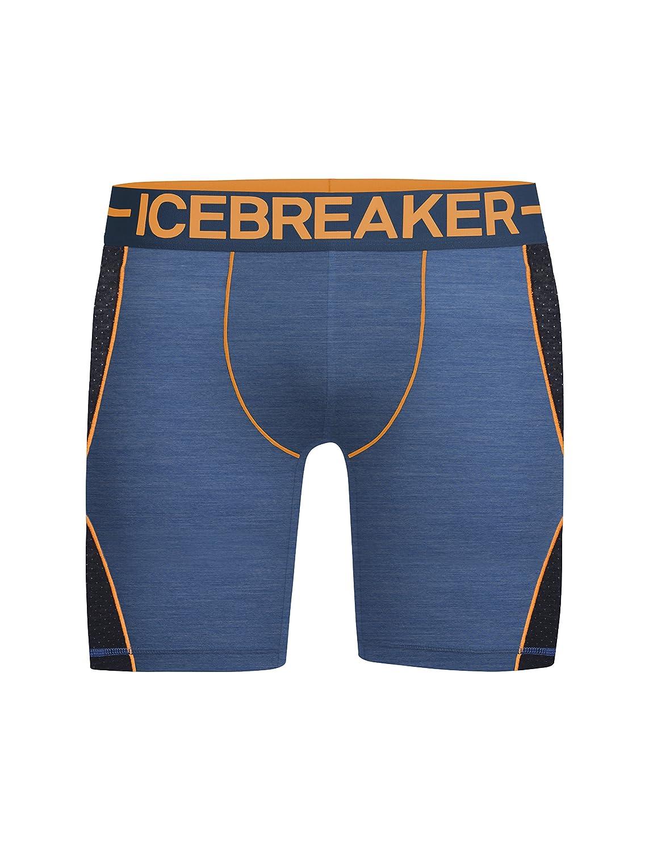 Icebreaker Mens Anatomica Merino Zone Long Boxers 104114001XL