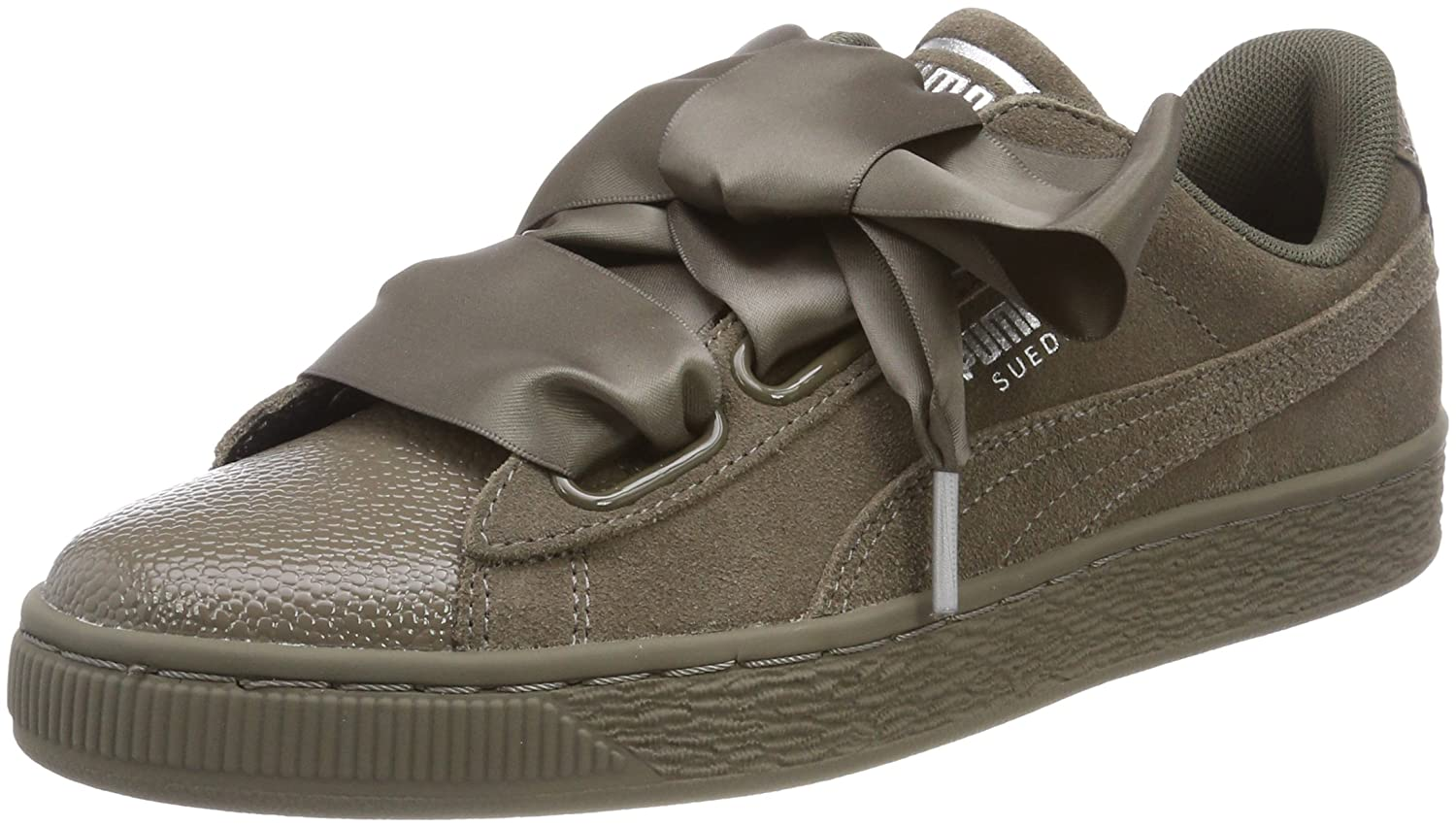 Puma Damen Suede Heart Bubble Turnschuhe