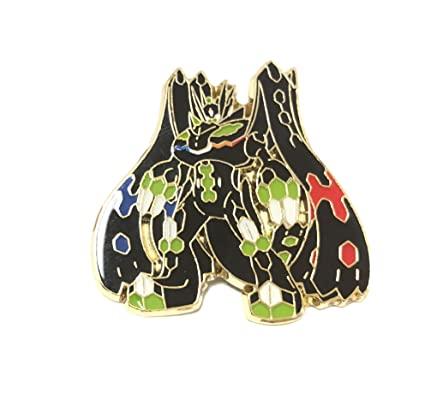 1b9f9228b Amazon.com: POKEMON - ZYGARDE COMPLETE FORM ENAMAL PIN - OFFICIAL COLLECTION  BOX EXCLUSIVE: Toys & Games