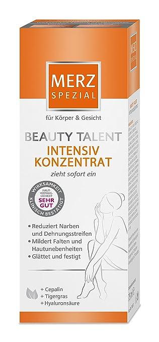beb768ea8f1317 Merz Spezial Pflegecreme Beauty Talent Intensivkonzentrat – Spezielles  Konzentrat zur Reduktion von Narben   Dehnungsstreifen–
