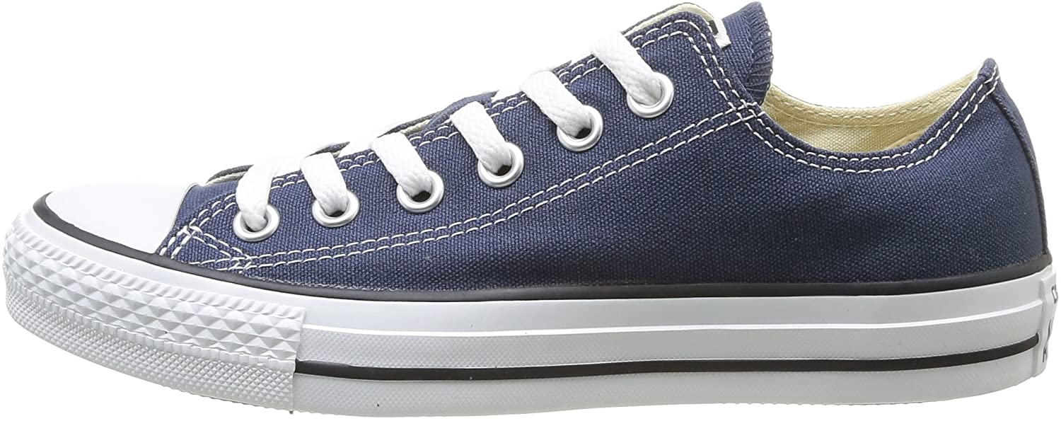 8.5 D Converse Unisex Chuck Taylor All Star Low Top Navy Sneakers M