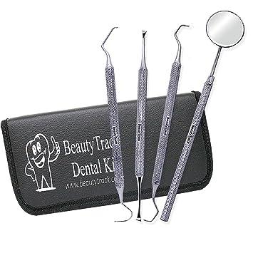 Edelstahl Zahnhygiene Zahnsteinentferner Zähne Mundreinigung Zahnarzt Werkzeug