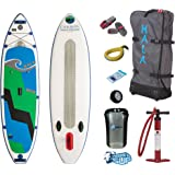 """HALA CARBON HOSS Inflatable SUP 2017 (11'0"""" x 34"""" x 6"""") Incl. Pumped Up SUP ERS Gear Pack"""