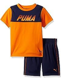 PUMA Boys Boys' 2 Piece Tee & Short Set Shorts Set