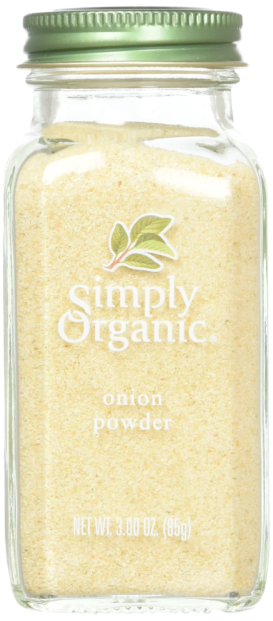 Simply Organic Onion, White Powder ORGANIC 3.00 oz. Bottle (a) - 1 Pack