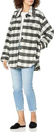 The Drop Women's @spreadfashion Oversized Shirt Jacket