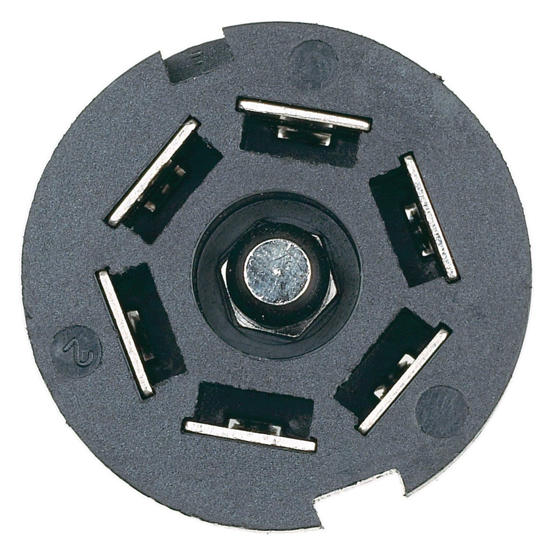 Hopkins 48505 7 Pole Rv Blade Trailer Connector Automotive Round Pin Wiring Diagram