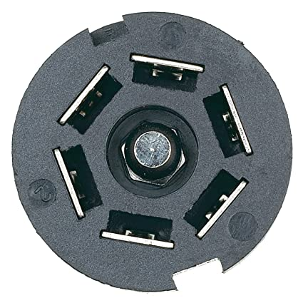 amazon com hopkins 48505 7 pole rv blade trailer connector automotive rh amazon com