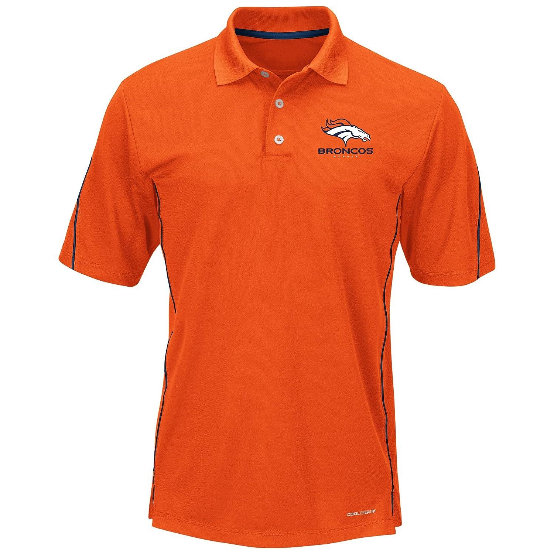 NFL Denver Broncosユニセックスポリフリーストラックジャケット 3X/Tall オレンジ B01E7FWDPI