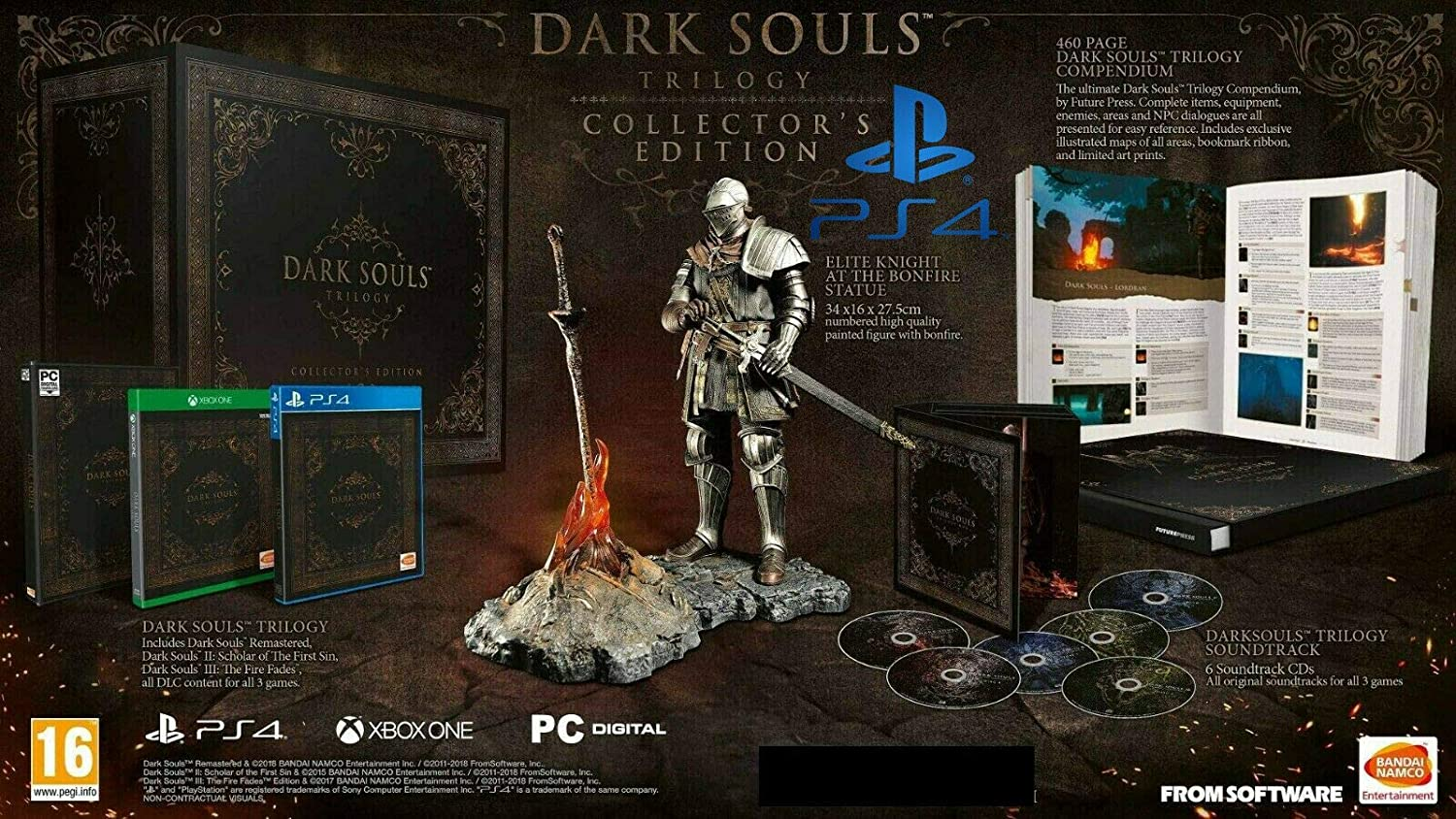 Dark Souls Trilogy Collector (PS4)