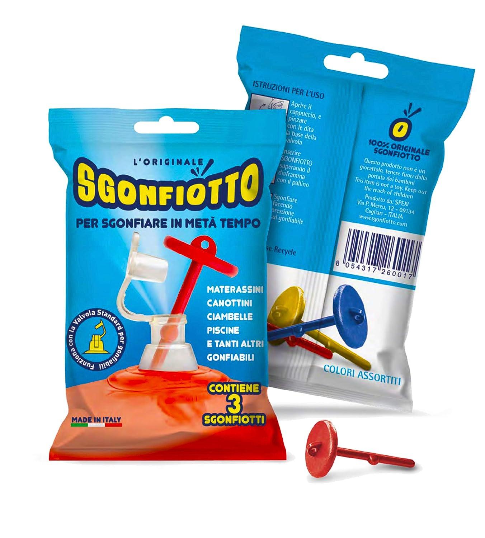 Sgonfiotto Scorpion Trio - para sgonfiare facilmente ...