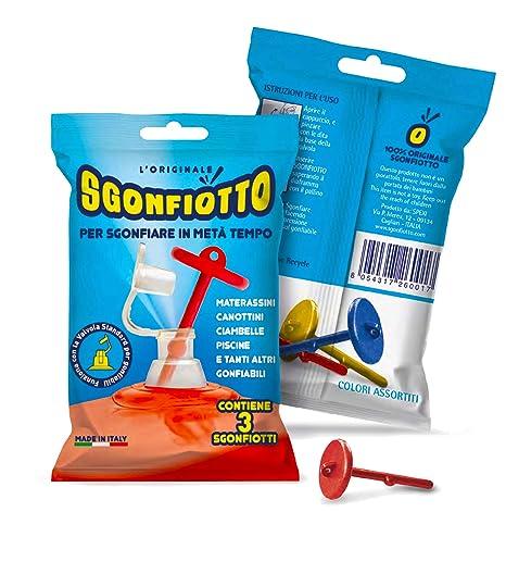 Sgonfiotto Scorpion Trio - para sgonfiare facilmente Colchonetas ...