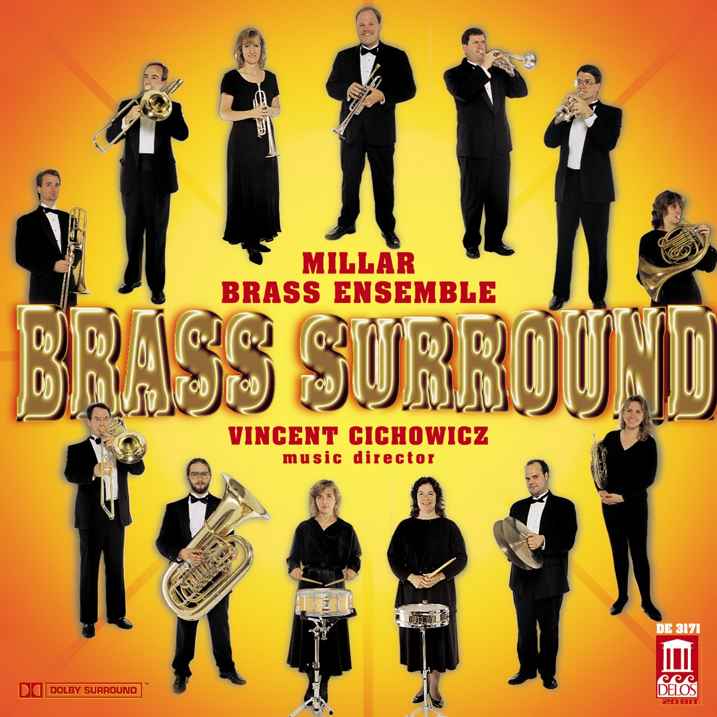 Miller Brass Ensemble: Brass Surround by Delos