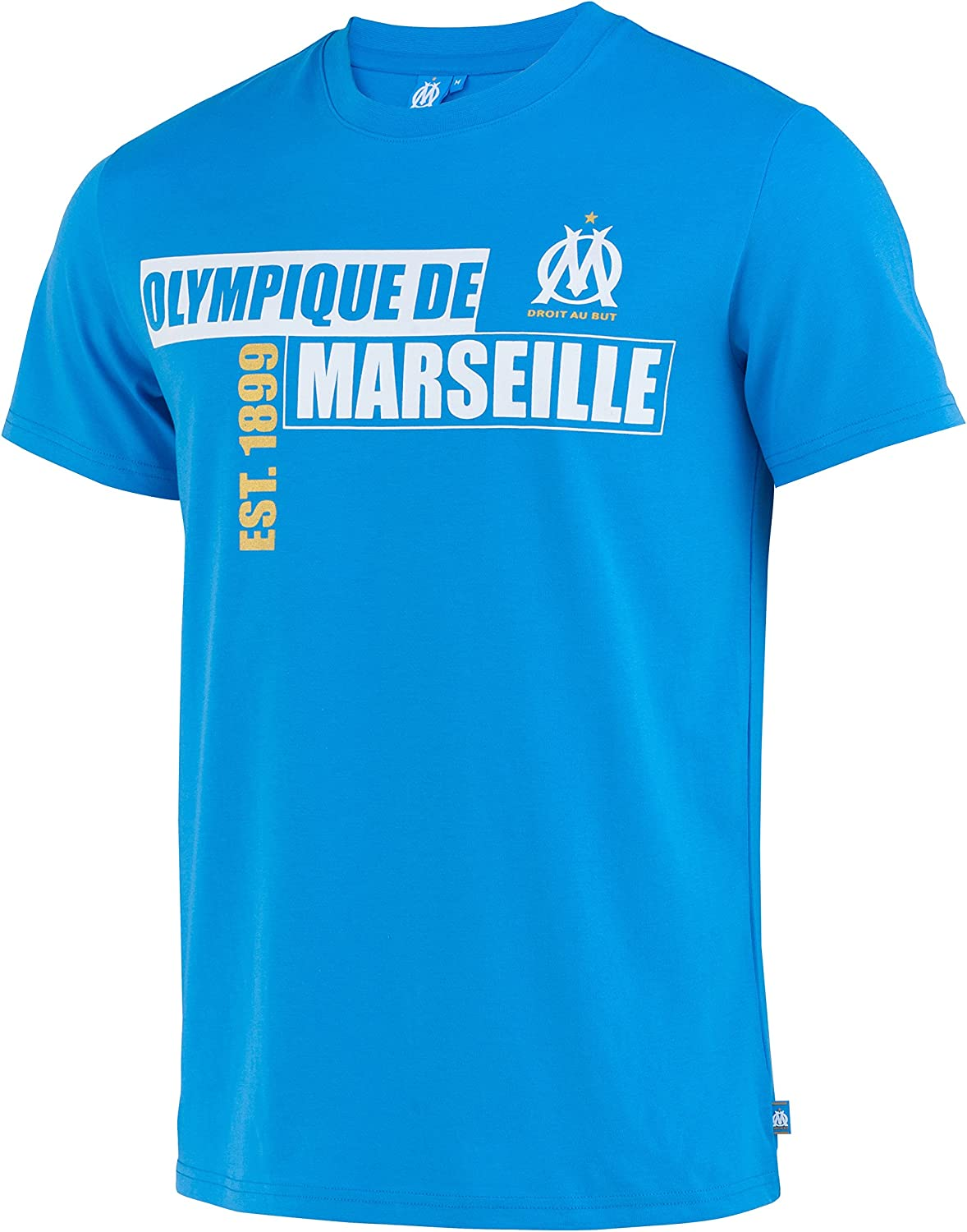 Olympique de Marseille T-Shirt Herrengr/ö/ße offizielle Kollektion