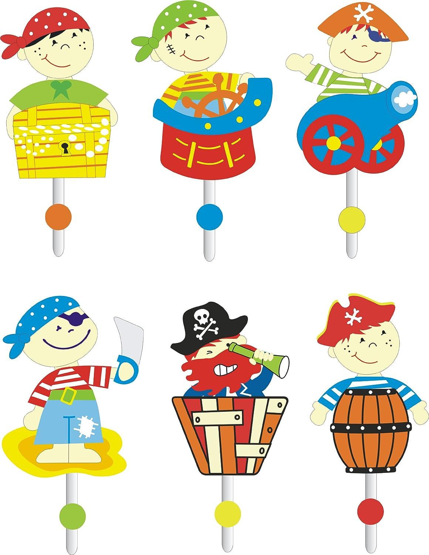 kinderteppich spielteppich kinderzimmer teppich pirat design mit ... - Kinderzimmer Grun Rot