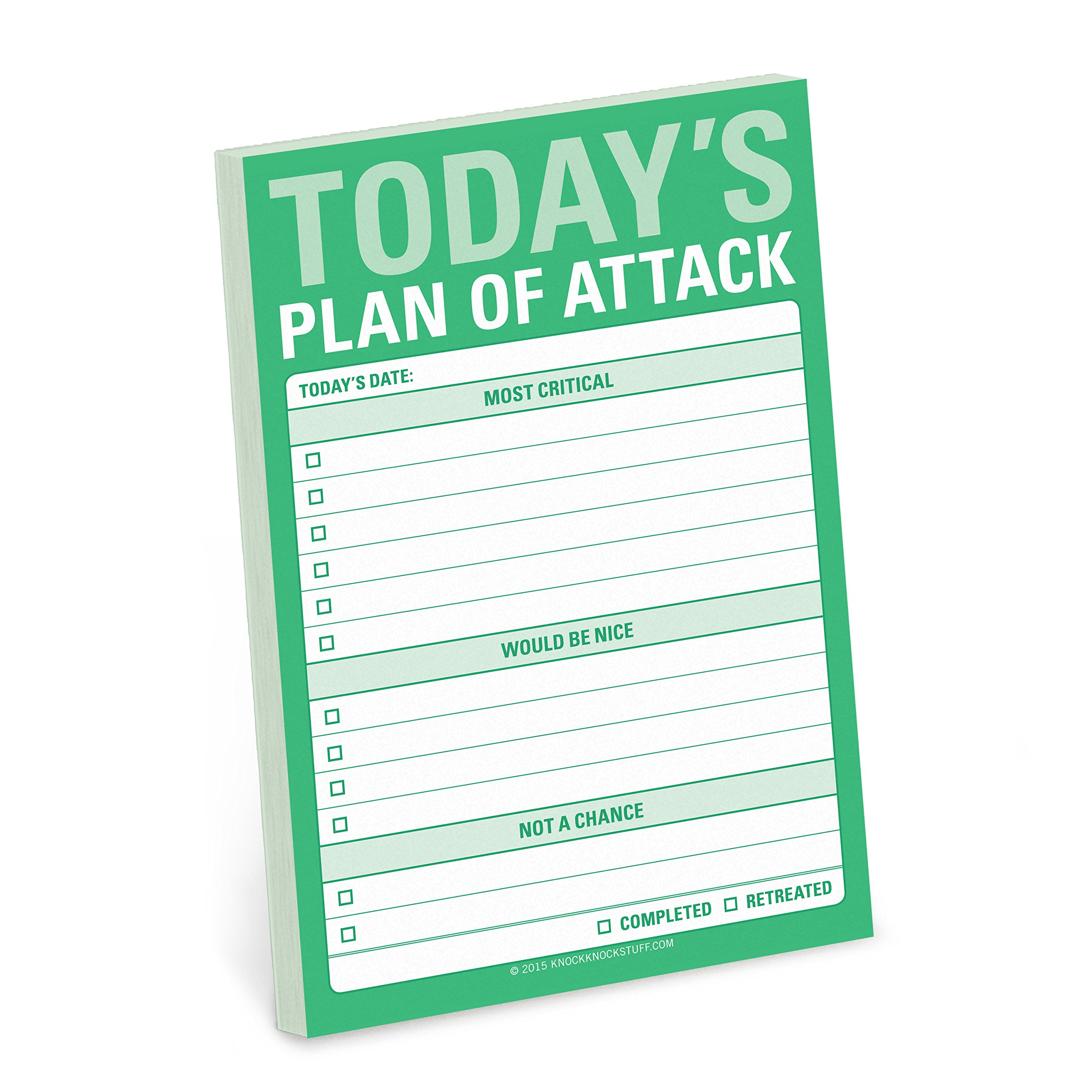 Knock Todays Attack Great Stickies product image
