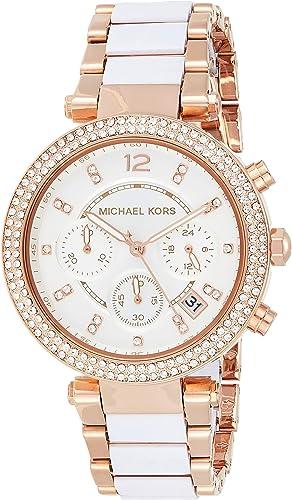 Michael Kors Women's Parker Rose Gold Tone Watch MK5774