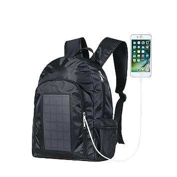 WJH Mochila para Laptop de Negocios con Cargador Solar ...