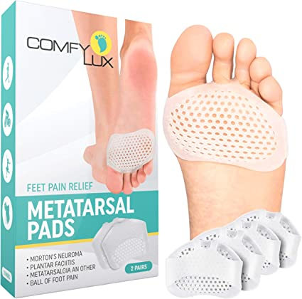 Metatarsal Pads for Women and Men Ball of Foot Cushions Foot Pads Heel Cushion