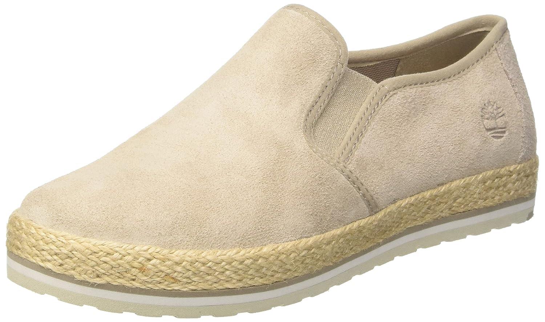 Timberland Elvissa Sea Leather, Zapatillas sin Cordones para Mujer, Marrón (Simply Taupe L47), 37 EU
