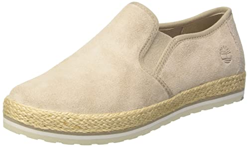 Timberland Elvissa Sea Leather, Zapatillas sin Cordones para Mujer, Marrón (Simply Taupe L47), 37.5 EU