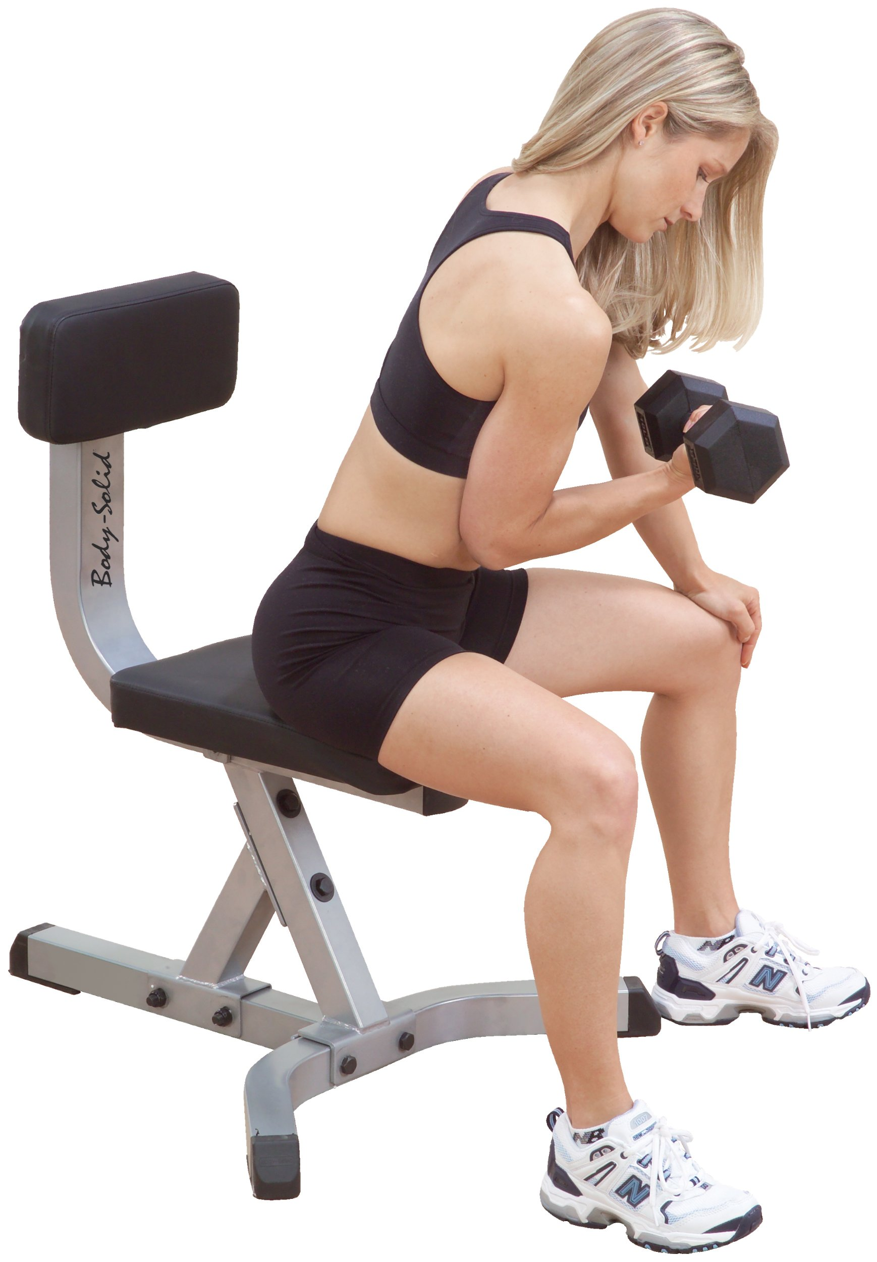 Upholstered Dumbbell Stool by Body-Solid