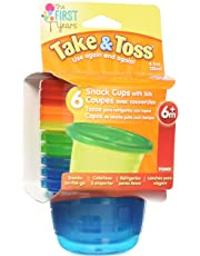 The First Years Take and Toss Snack Cups