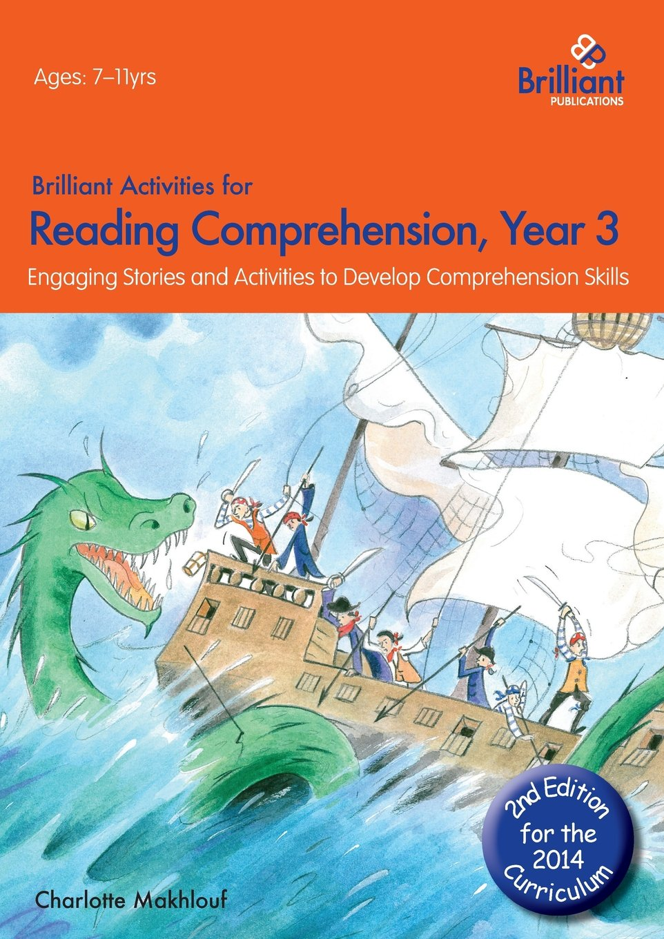 Worksheets Cross-curricular Reading Comprehension Worksheets brilliant activities for reading comprehension year 3 2nd edition amazon co uk charlotte makhlouf books