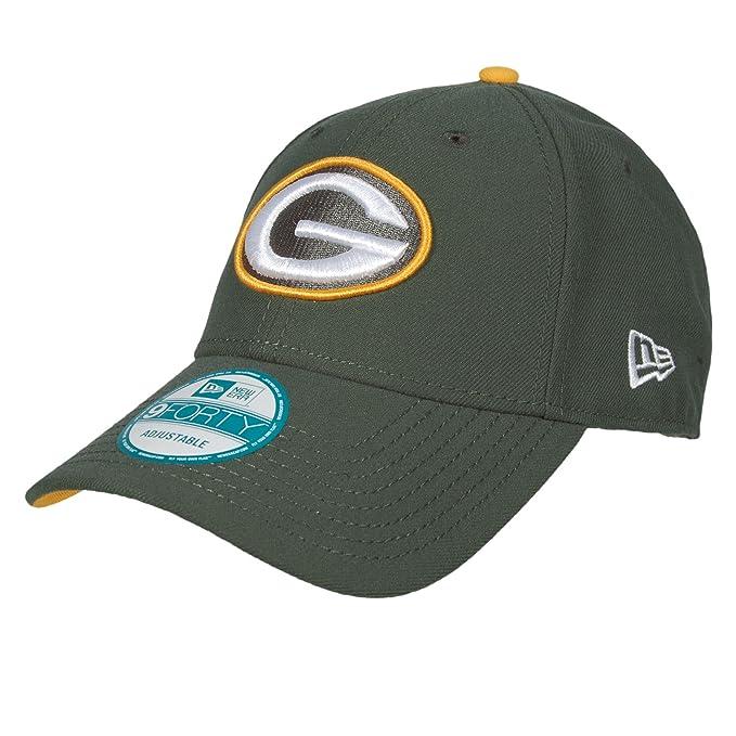 9Forty Green Bay Packers Cap New Era baseball cap berretto baseball Taglia  unica - verde  Amazon.it  Abbigliamento 18b80e66ac51
