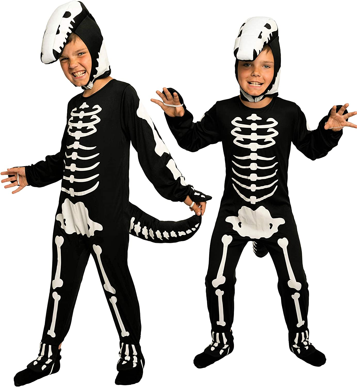 Magicoo - Disfraz de Dinosaurio para niños, diseño de Esqueleto de ...
