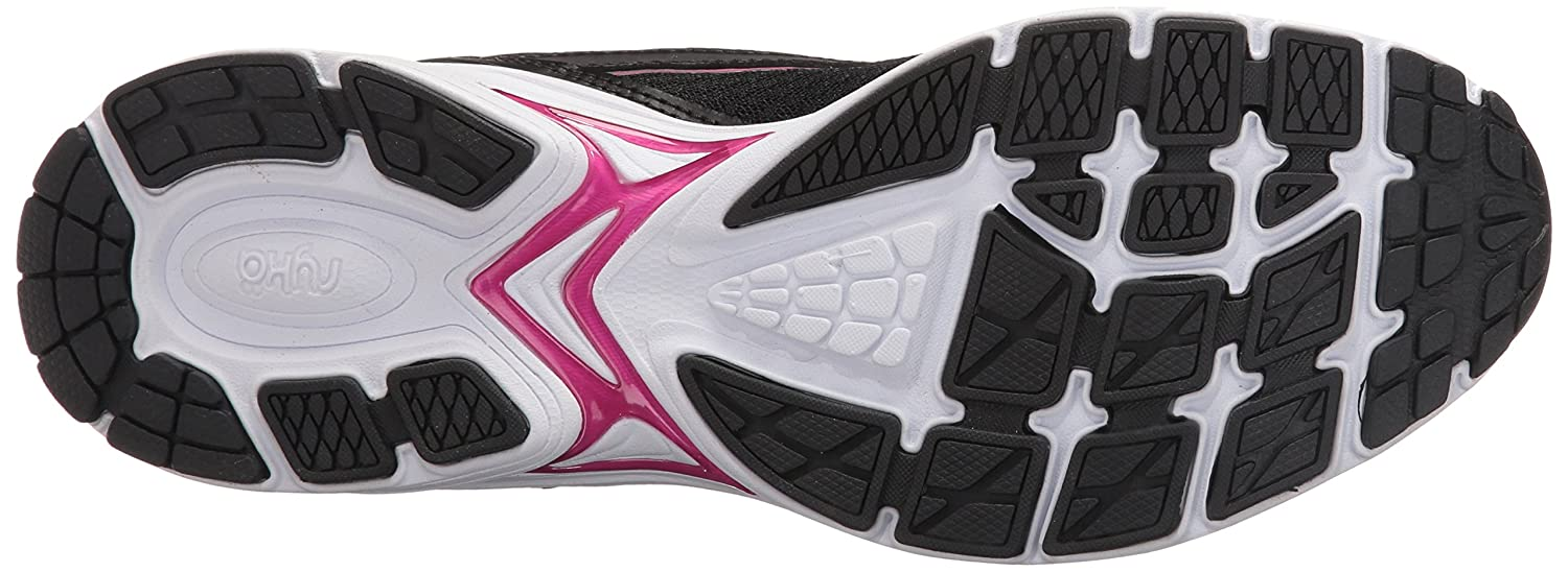 Ryka Women's Sky Walking Shoe B01KWBVMBW 5 B(M) US|Black/Pink