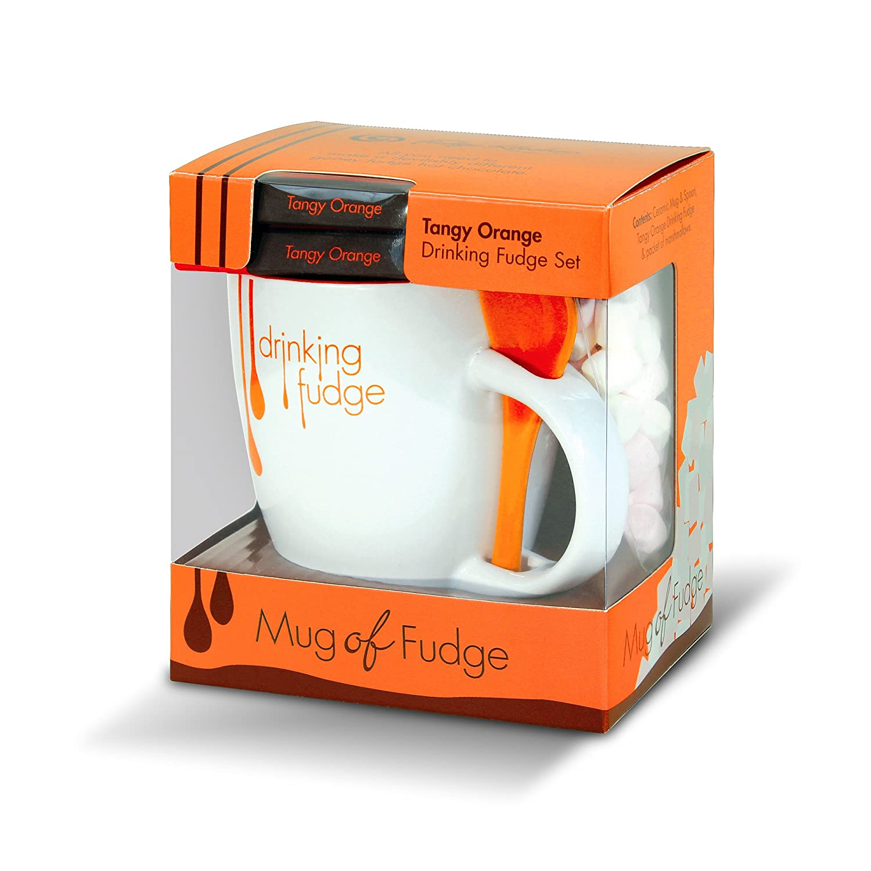 Fudge Kitchen - Mug Of Fudge with Marshmallows - Tangy Orange ...
