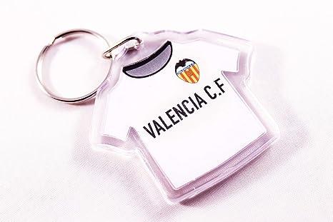 VALENCIA Llavero Camiseta Plástico CF: Amazon.es: Deportes y ...