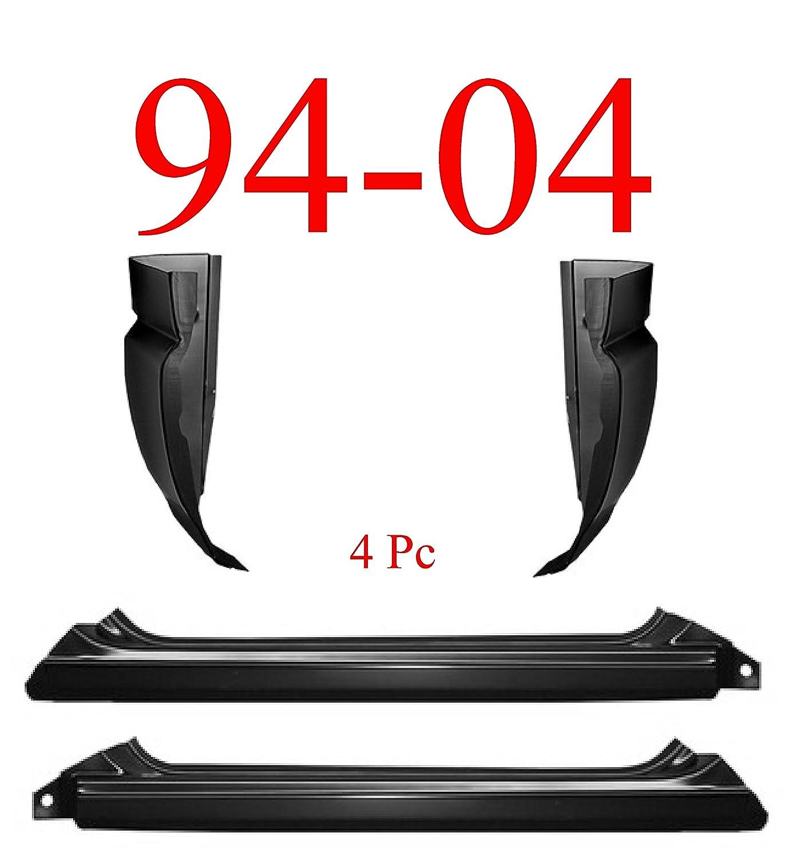 94 04 S10 4pc Slip On Rocker Panel Cab Corner Automotive 1999 Zr2 Engine Diagram