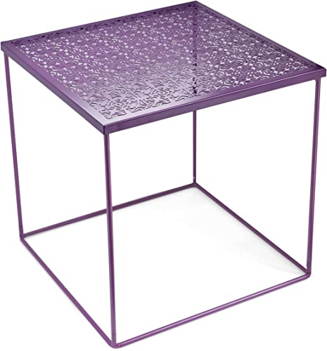 Urban Shop Die Cut Metal Side Table