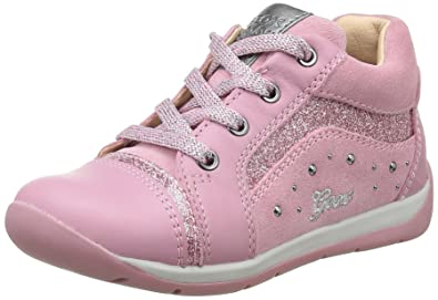 6cfe0ed47e620 Geox B Each Girl A, Chaussures Marche Fille, Rose (DK PINKC8006),