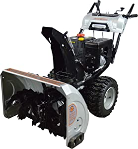 """Dirty Hand Tools 103879 Self-Propelled - Electric Start 302cc Dual Stage Gas - 30"""" Snow Blower"""