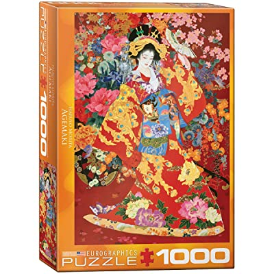 EuroGraphics Agemaki Jigsaw Puzzle (1000-Piece), Model:6000-0564: Toys & Games