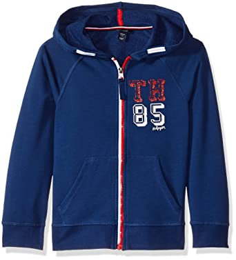 d422be537df1 Amazon.com  Tommy Hilfiger Big Girls  Solid Hoodie  Clothing
